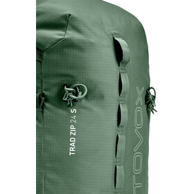 Ortovox Trad Zip 24 S Climbing Backpack green forrest